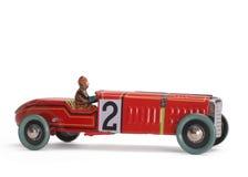 carro velho do brinquedo Fotografia de Stock