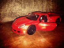 Carro velho do brinquedo Foto de Stock