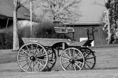 Carro velho do cavalo Fotos de Stock