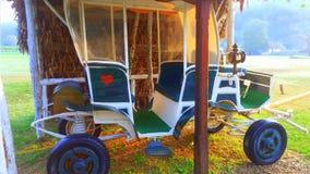 Carro velho do cavalo Fotografia de Stock Royalty Free