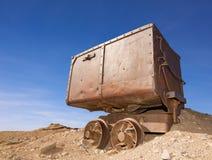 Carro velho do minério Foto de Stock Royalty Free