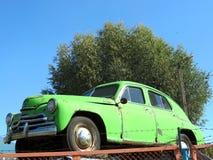 Carro velho do russo Fotos de Stock Royalty Free