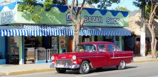 Carro velho em Cuba Imagem de Stock Royalty Free