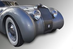 Carro velho francês. Imagem de Stock Royalty Free