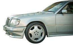 Carro velho isolado de Mercedes Imagem de Stock