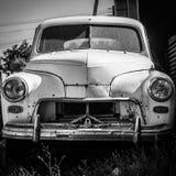 Carro velho Pobeda Imagens de Stock Royalty Free