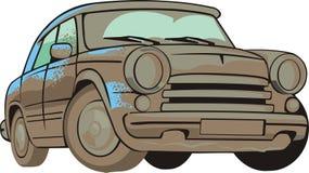 carro velho sujo Fotografia de Stock