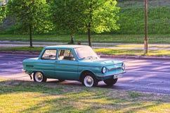 Carro velho ZAZ Zaporozhets Fotografia de Stock Royalty Free