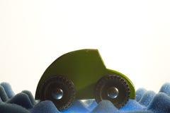 Carro verde Imagens de Stock