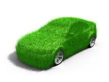 Carro verde Fotografia de Stock