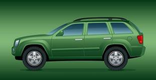 Carro verde Off-road Foto de Stock Royalty Free