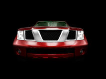 Carro vermelho Ilustração do Vetor