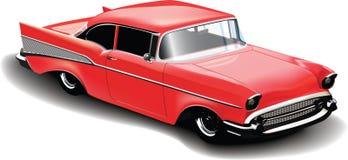 Carro vermelho Fotos de Stock Royalty Free