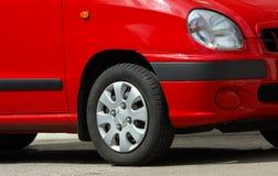Carro vermelho Imagens de Stock