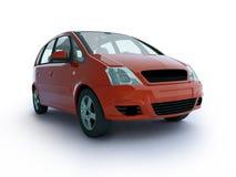 Carro vermelho de múltiplos propósitos Fotos de Stock