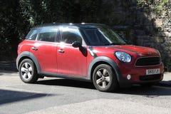 Carro vermelho de Mini Minor (versão 2013) Imagens de Stock