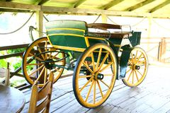 Carro viejo Foto de archivo libre de regalías