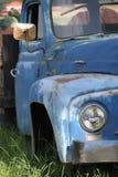 Carro viejo con las calabazas Imagenes de archivo