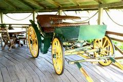 Carro viejo del caballo Foto de archivo libre de regalías