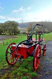 Carro viejo del coche de bomberos Fotos de archivo libres de regalías