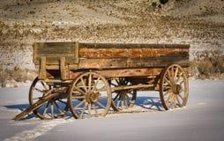 Carro viejo del rancho Foto de archivo