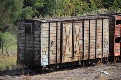 Carro viejo del tren Fotos de archivo libres de regalías