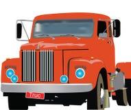 Carro viejo rojo Fotografía de archivo