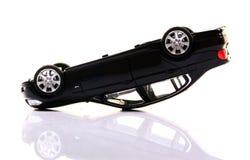 Carro virado Imagem de Stock Royalty Free