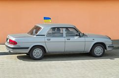 Carro volga Fotos de Stock Royalty Free