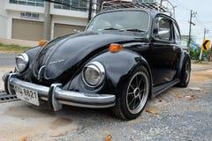 Carro Volkswagen Beetle do vintage Fotografia de Stock