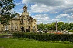 Carroceiro Hall Lister Park Bradford imagens de stock