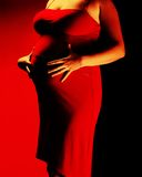 Carrocería 2 del embarazo Foto de archivo libre de regalías