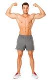 Carrocería completa del hombre muscular imagen de archivo