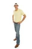 Carrocería completa masculina adolescente ocasional Imágenes de archivo libres de regalías