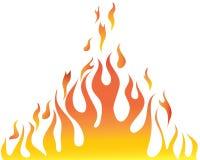 Carrocería de la llama Foto de archivo libre de regalías