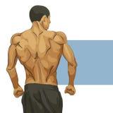 Carrocería muscular del hombre Foto de archivo