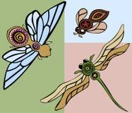 Carrocerías de Buzzy ilustración del vector