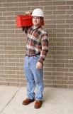 Carrocería completa del hombre de funcionamiento Foto de archivo