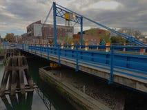 Carroll Street Bridge Stock Photo