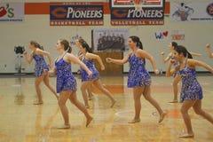 Carroll universitetarNCAA dansar laget Royaltyfri Fotografi
