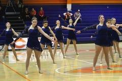 Carroll University Dance Team Fotografia de Stock Royalty Free