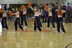 Carroll University Dance Team Royalty Free Stock Image