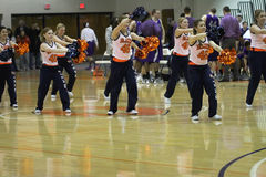 Carroll University Dance Team Royalty Free Stock Photo