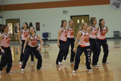 Carroll University Dance Team Royalty Free Stock Images
