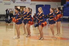 Carroll University Dance Team Royalty Free Stock Image