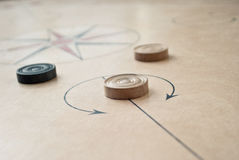 Carrom board Stock Images