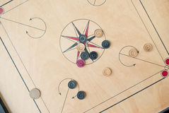 Carrom board Royalty Free Stock Image