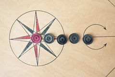 Carrom board Royalty Free Stock Photos