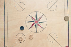 Carrom board Royalty Free Stock Photography