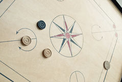 Carrom board Stock Photo
